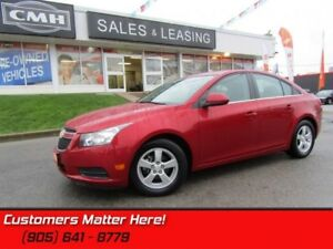 2014 Chevrolet Cruze 2LT  LEATHER, SUNROOF, HEATED SEATS, REAR C