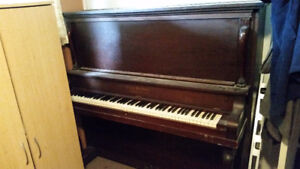 Cross Brothers Cabinet Grand Piano
