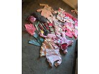 Large baby bundle girls 6-9