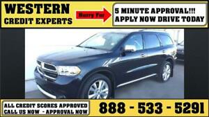 2016 Dodge Durango Crew AWD ~ 3rd Row ~ DVD ~ Leather $217 B/W