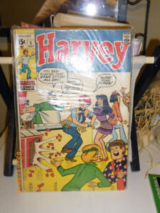 Harvey Comic issue number 1