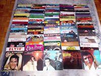 120 Vinyl Records Elvis Presley Glen Campbell Andy Williams Country 12 inch LP Music Joblot Job lot