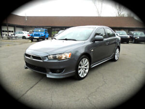 2009 Mitsubishi Lancer, GTS, LEATHER,MOONROOF, HEATED ,5Sp. M