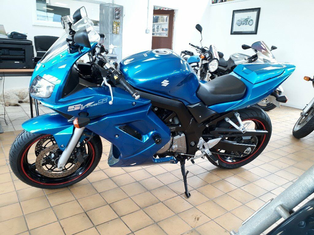 suzuki sv 650 s sv650s 2007 blue in londonderry county londonderry gumtree. Black Bedroom Furniture Sets. Home Design Ideas