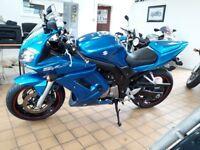 Suzuki SV 650 S SV650S 2007 Blue