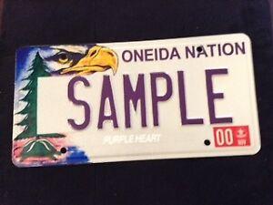 ONEIDA NATION License Plate