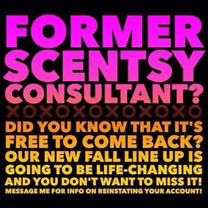 Calling all Former Scentsy Consultants
