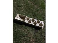 Caravan/ camper plate & cup holder