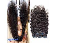 "18,20,22,24"" 12, 14, 16 & 18"" 7a Brazilian water wave virgin hair 4bundles"