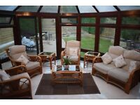 Outdoor conservatory patio set