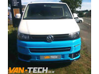 VW Transporter T5.1 Front End Parts Styling Pack includes Wiring Kit / Lower Splitter