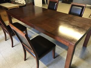Large family dining set