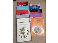 Mixture of Clarinet books (11)