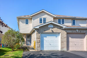 Open Concept Semi-Detached Home