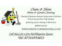 Home and garden cleaning,Nottingham and 5 miles surrounding area!