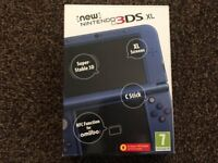 Boxed Nintendo 3DS XL with 4 Games - New DS model