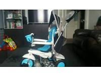 4-in1 SmarTrike blue- Great condition