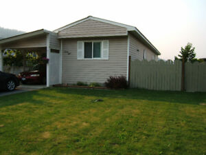 Price reduced $10,000  Many updates! Enderby B.C.  Mobile home