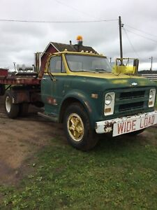 1971 Chevy 3 ton with 40ft trailer