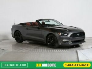 2016 Ford Mustang CONVERTIBLE ECOBOOST PREMIUM AUTO A/C CUIR NAV