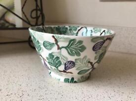 Emma Bridgewater Collectors figs old bowl - purple