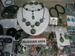 HUGE VARIETY OF JADE - NEPHRITE AND JADEITE - JEWELRY JEWELLERY