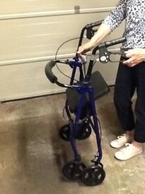 Rolator mobility aid