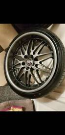 BMW breyton 19 inch staggered alloys