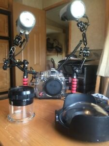 Scuba Ikelite Underwater Photography housing W/Canon 450 XSI