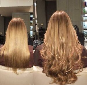 Clip in hair extensions 100% remy human hair vaious colors
