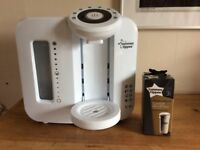 Tommee Tippee Perfect Prep Machine and new boxed filter