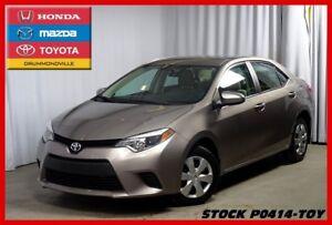 2014 Toyota Corolla LE/TRES BAS KM/CAM RECUL