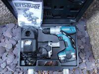 Erbauer 14.4v Battery drill screwdriver