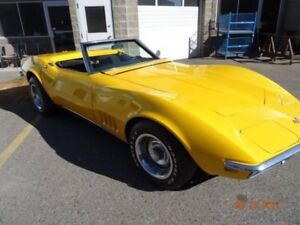 1968 corvette matching numbered convertible