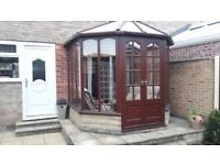 Conservatory and furniture