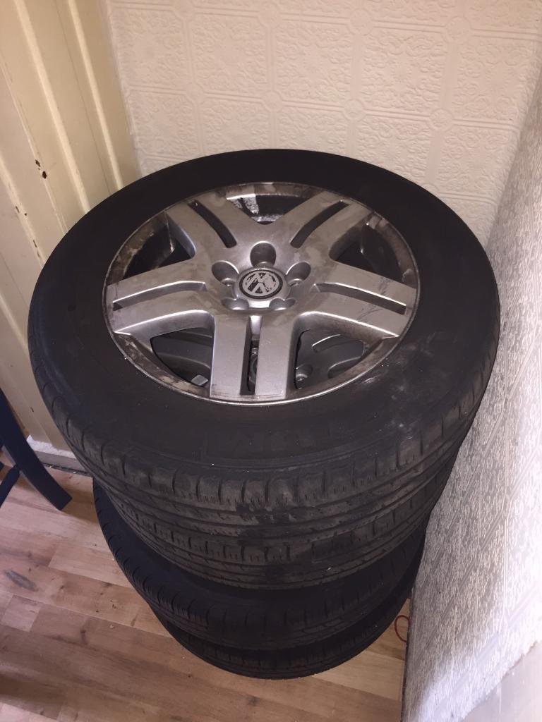 "Genuine VW Golf MK4 16"" Wheels"