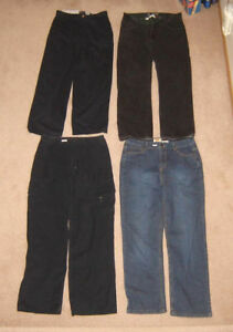 Youth's Jeans, Shorts - sz 16, men's sz 28, 30 / Shirts sz S, M
