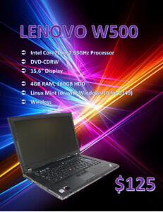 BACK TO SCHOOL SALE - Windows 10 Laptops - Starting @ $125