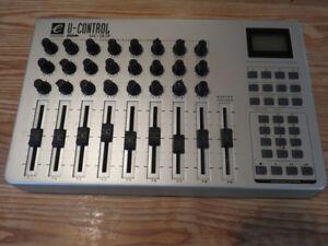 Evolution U-control UC-33e USB Midi Control Surface