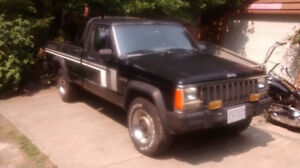 1986 Jeep Comanche 4 x 4 Driver Project Snow is coming