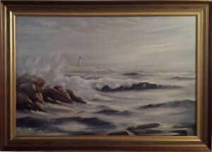Peggy's Cove Oil paintings