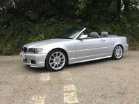2005 05 BMW 320CI M SPORT CONVERTIBLE RARE MANUAL ONLY 58000 MILES