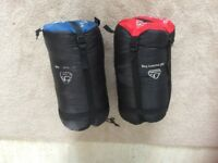 2 x Eurohike 300 Mummy bags Excellent condition
