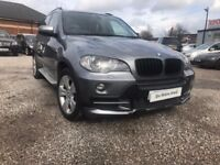 2007 BMW X5 3.0 30d SE 5dr FSH+PANORAMIC ROOF+7SEATS