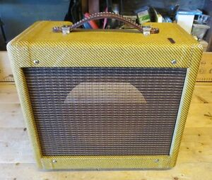 NEW Tweed Champ 5F1 Cabinet Relic'd
