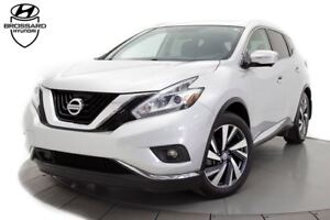 2015 Nissan Murano Platinum AWD GPS CUIR TOIT OUVRANT PANO.