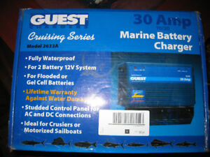 GUEST MARINE BATTERY CHARGER