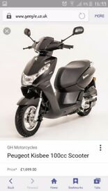 Peugoet Kisbee 100cc Scooter