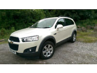 Captiva 2.2 LT, diesel, automatic, full service history, MOT 12months, 2 keys, HPI clear, Tow Bar