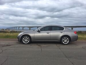 2009 infinity G37X (all wheel drive) great shape REDUCED PRICE